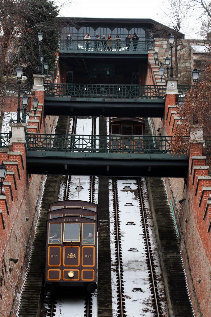 buda castle funicular sikló Budapest Hungary