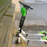 electric scooter, lime, budapest, hungary, usa