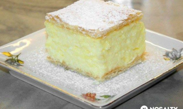 Recipe of the week: cream cake / krémes