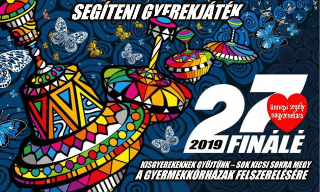 Great Orchestra of Christmas Charity for the first time in Budapest – 13th of January, 2019