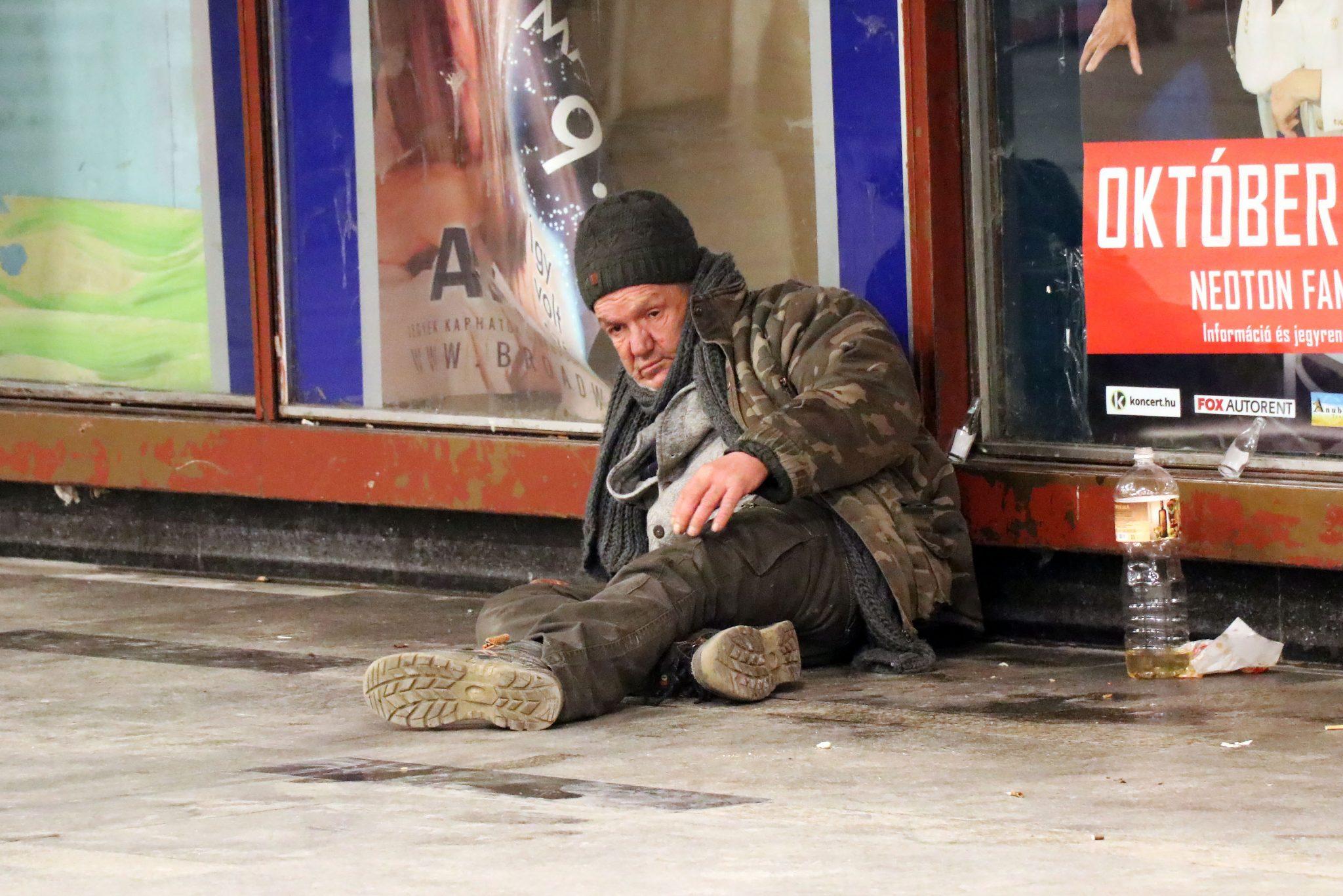 homeless budapest