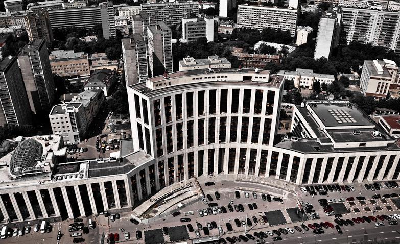 international investment bank building