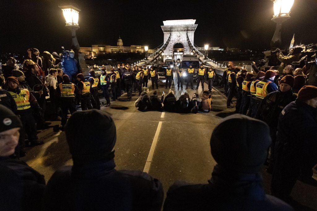 strike protest demonstration