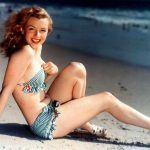 marilyn monroe, photo, beach, actress