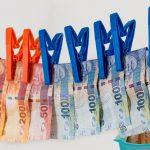 money tax laundering