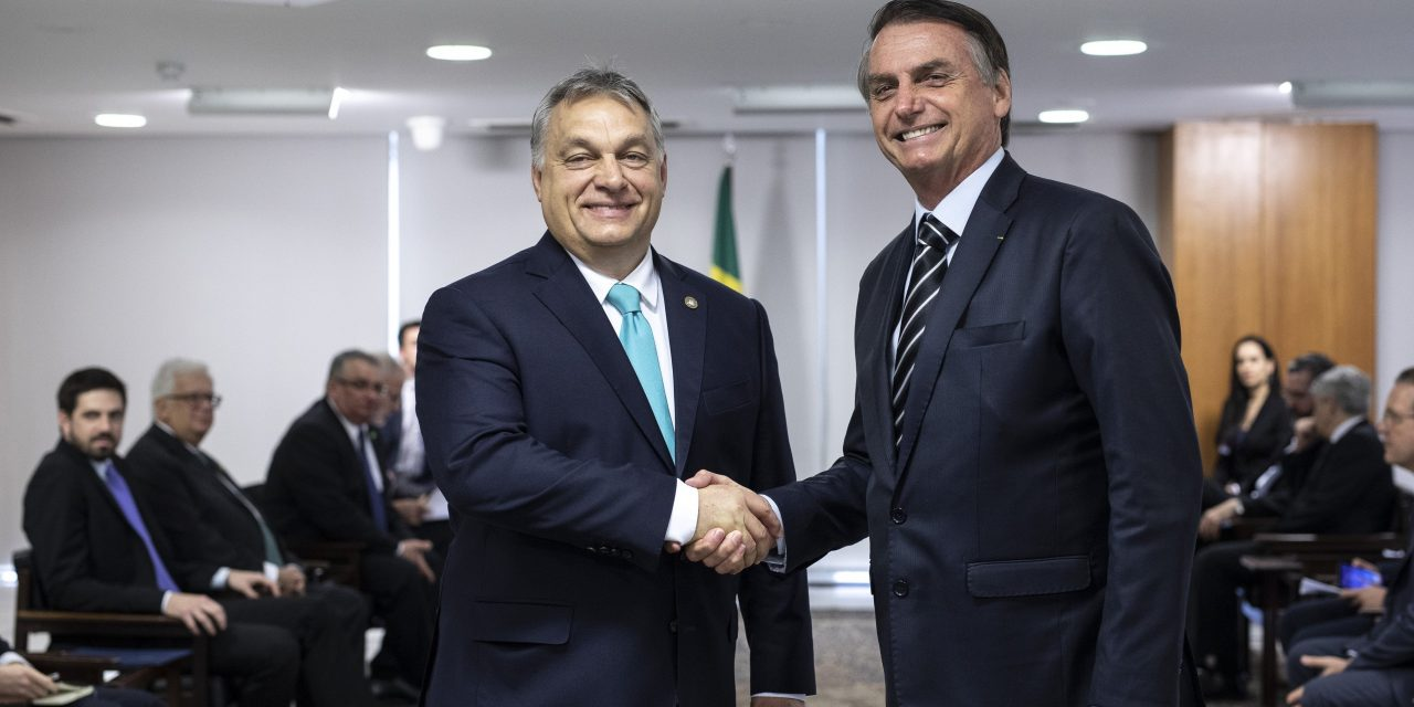 Orbán holds talks with Bolsonaro