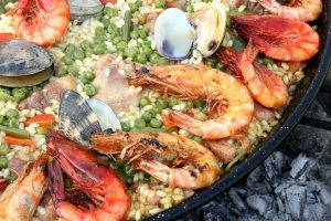Paella is originated from Valencia