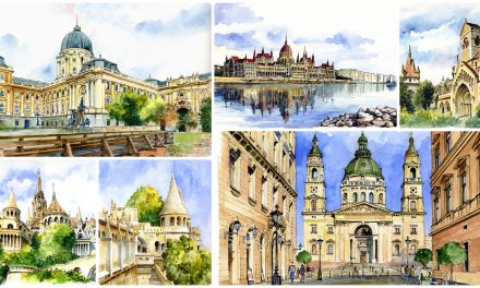 Polish artist captures Hungary on beautiful paintings – PHOTOS