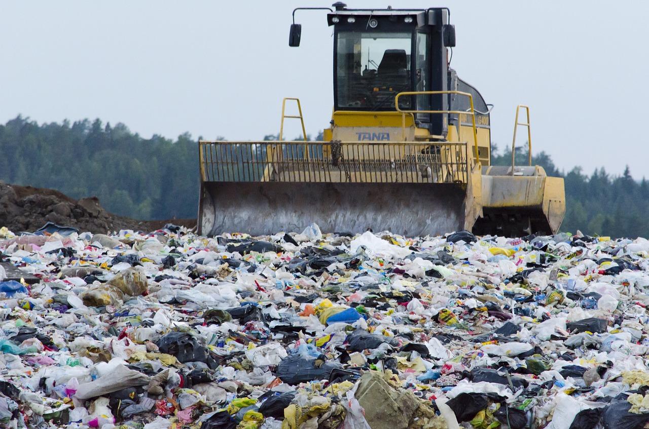 plastic, waste, europe, landfill