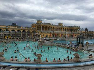 Széchenyi spa, Budapest, Hungary