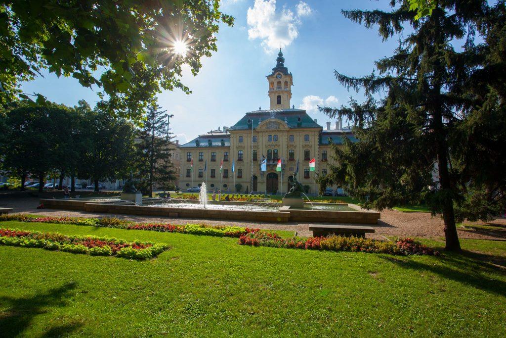 city hall, szeged