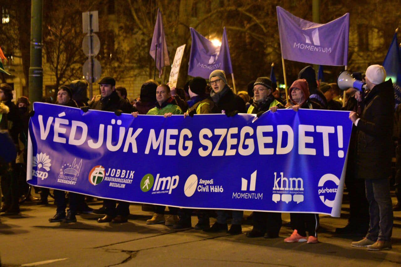 szeged demonstration