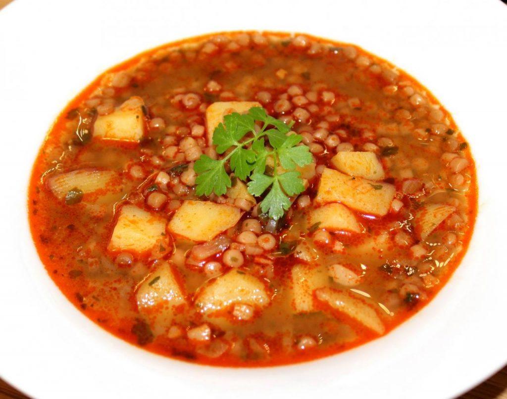 soup, egg barley, gastronomy