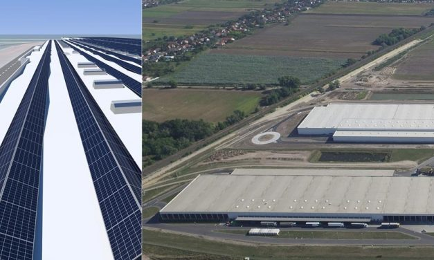 Audi and E.ON build Europe's largest PV roof system in Hungary!