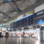 Budapest Airport, screen, airport, Hungary