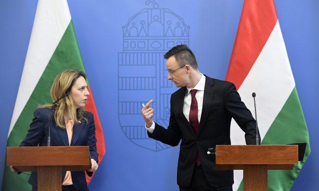 Bulgaria's deputy prime minister Nikolova held talks in Budapest