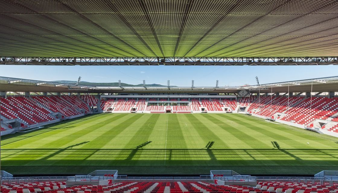 Two Hungarian football stadiums officially in the top 10 of the world!
