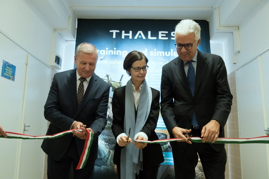 New helicopter simulator was inaugurated in Hungary, photo: MTI