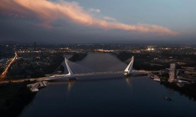 Trams to run on the new Danube bridge of Budapest? – plans already cost 12.9M EUR