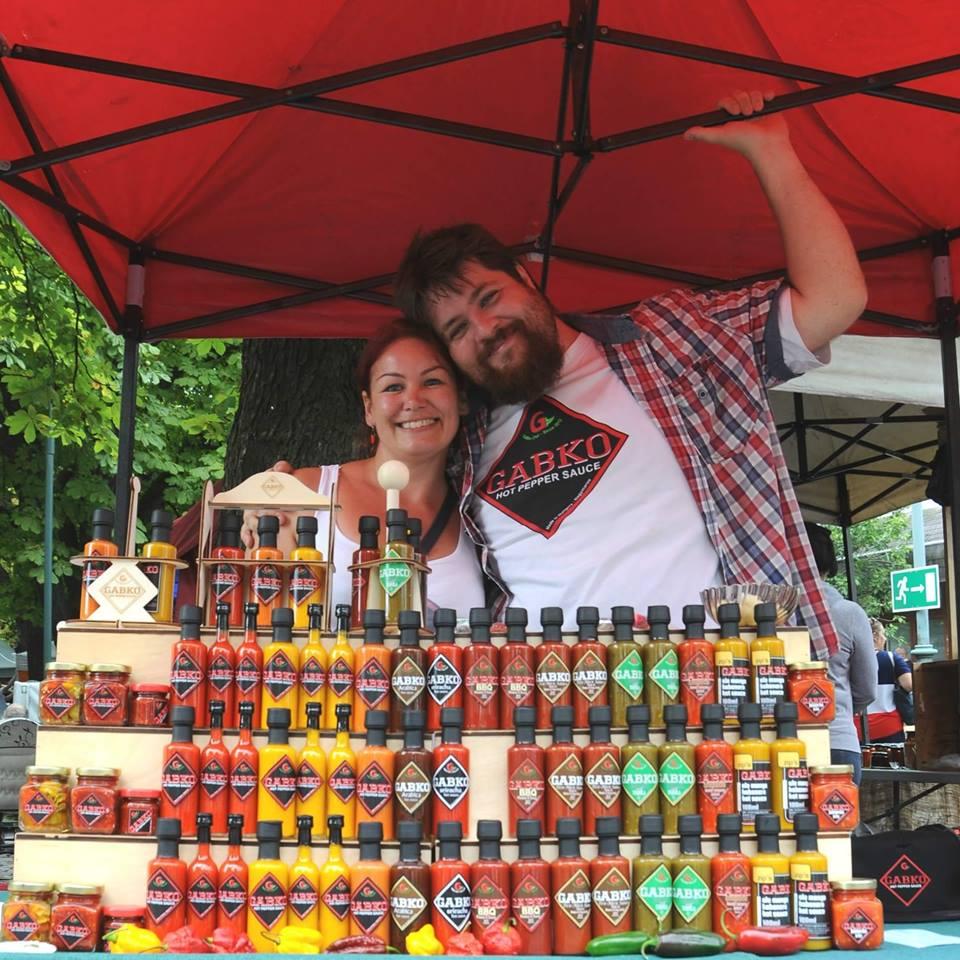 Gabko Chili, Hungary, sauce, hot, success, champion