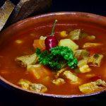 Goulash soup, Hungarian, traditional, food