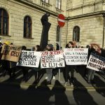 Hungarian Science Academy employees stage protest against reorganisation