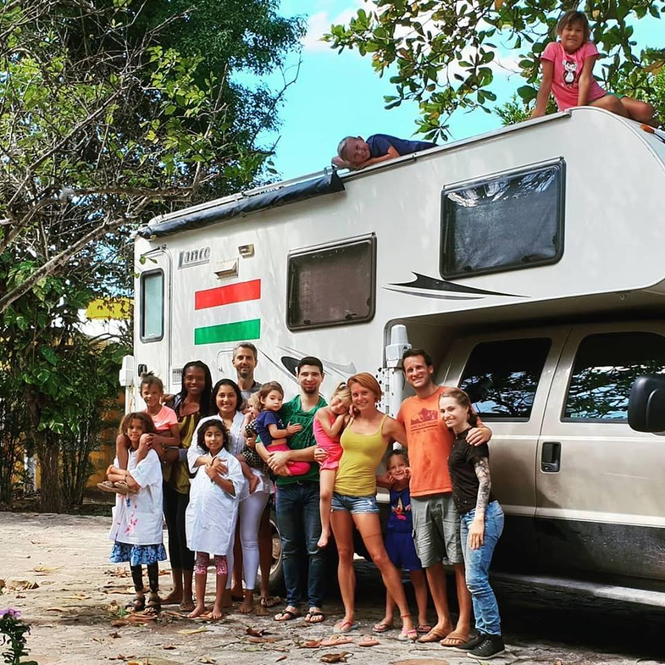 Hungarian family in Latin America