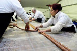#hungary #longest #sausage #world #record