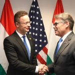 Hungarian FM meets with US energy secretary Perry in Washington