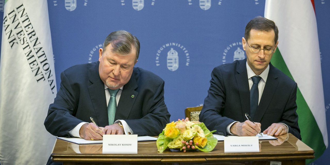 Agreement on International Investment Bank Budapest headquarters signed – UPDATE