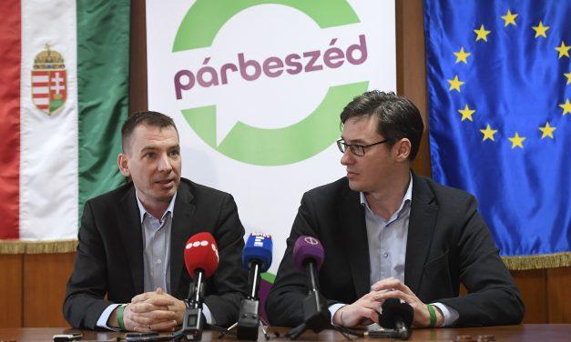 Jávor heads Párbeszéd EP list