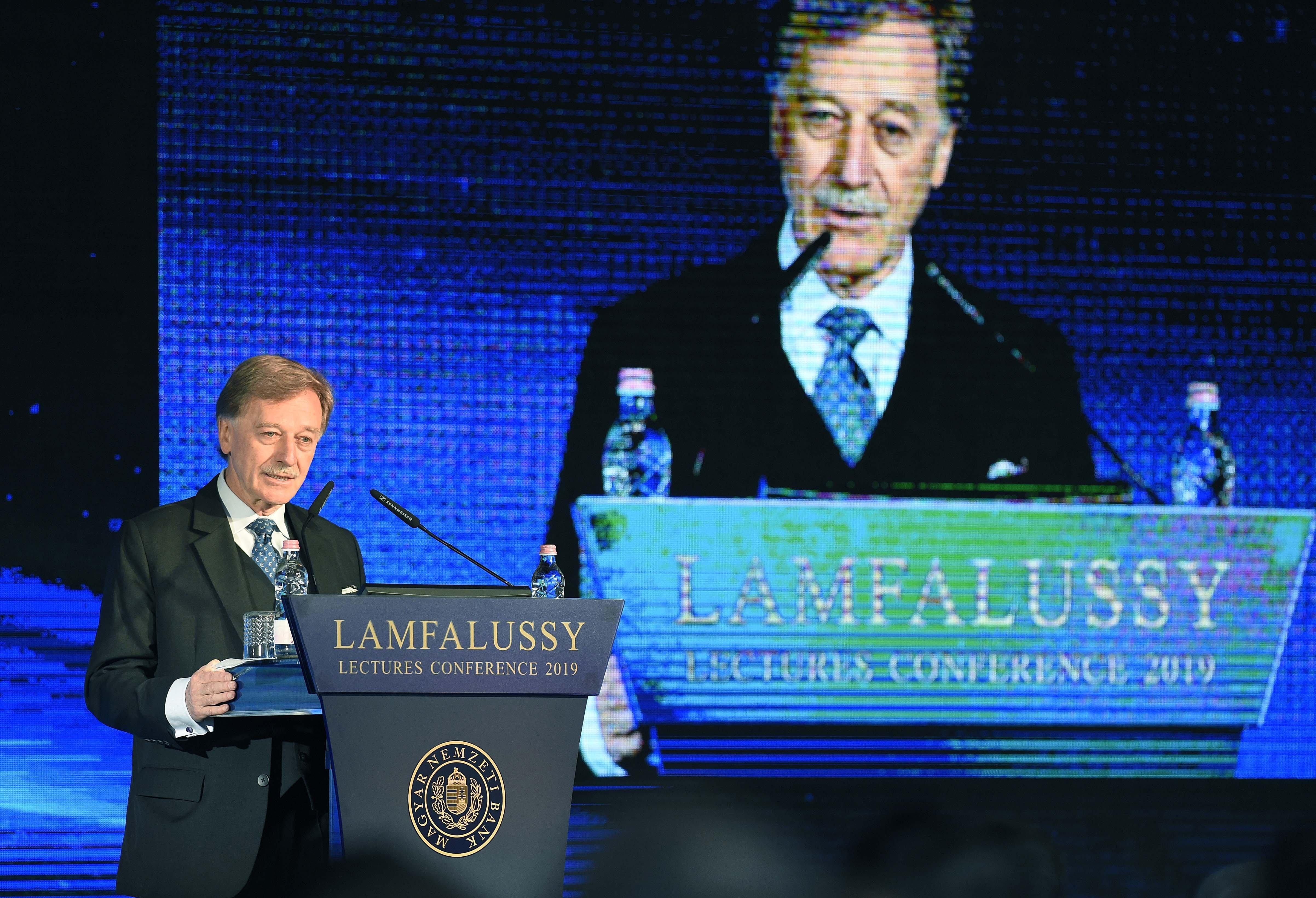 Lámfalussy Lectures Yves Mersch