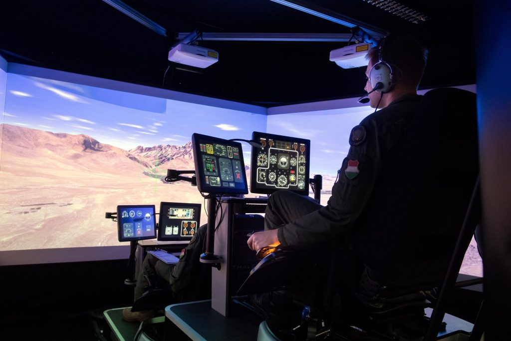 New helicopter simulator was inaugurated in Hungary