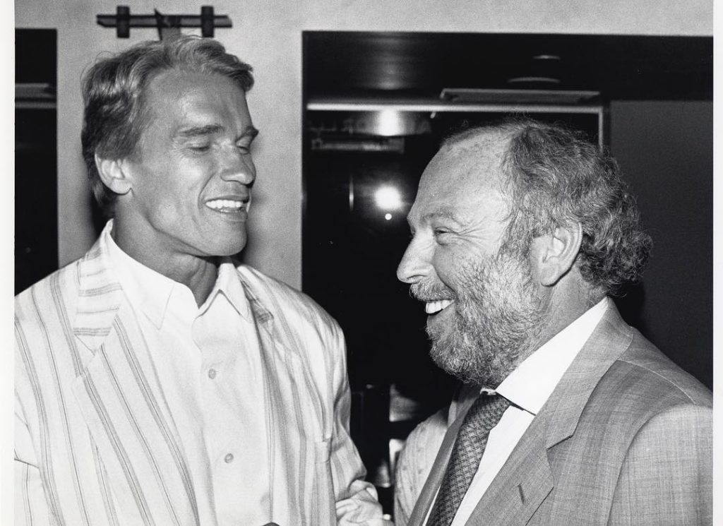 Schwarzenegger, Vajna, friends, old