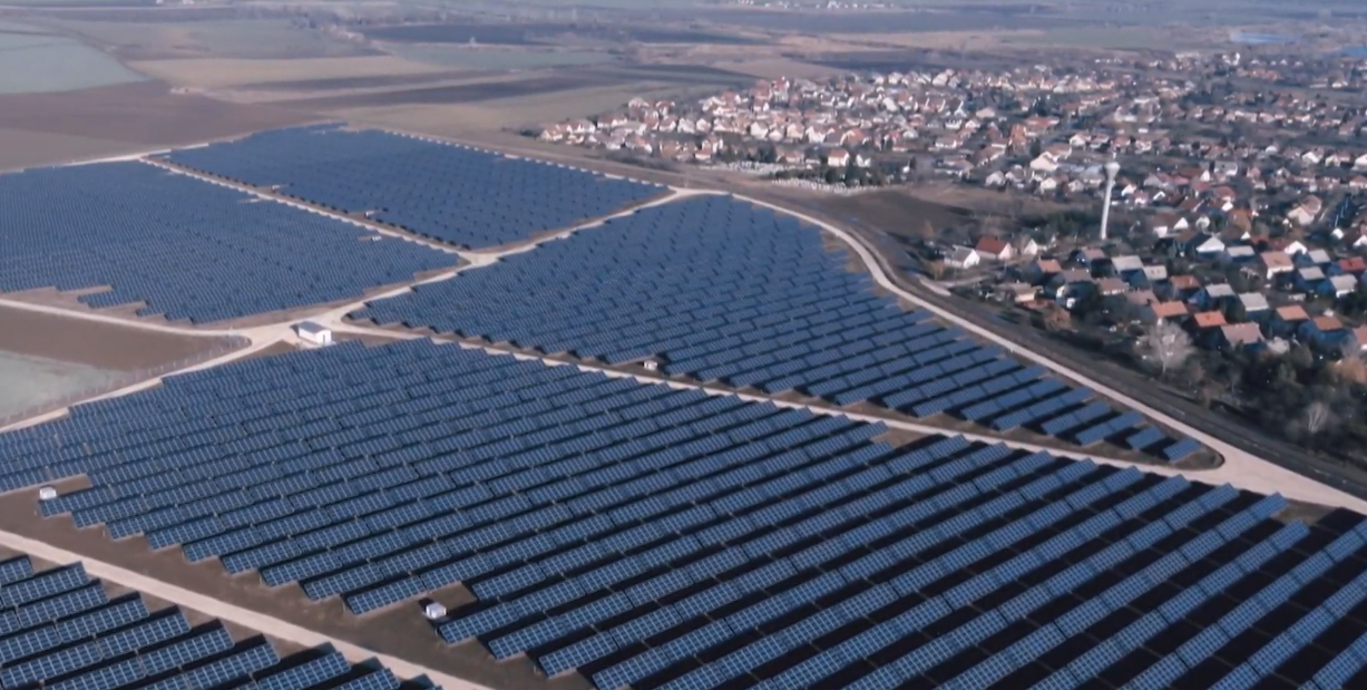 Solar power plant in Felsőzsolca