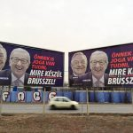 Soros Juncker EU Hungary billboards