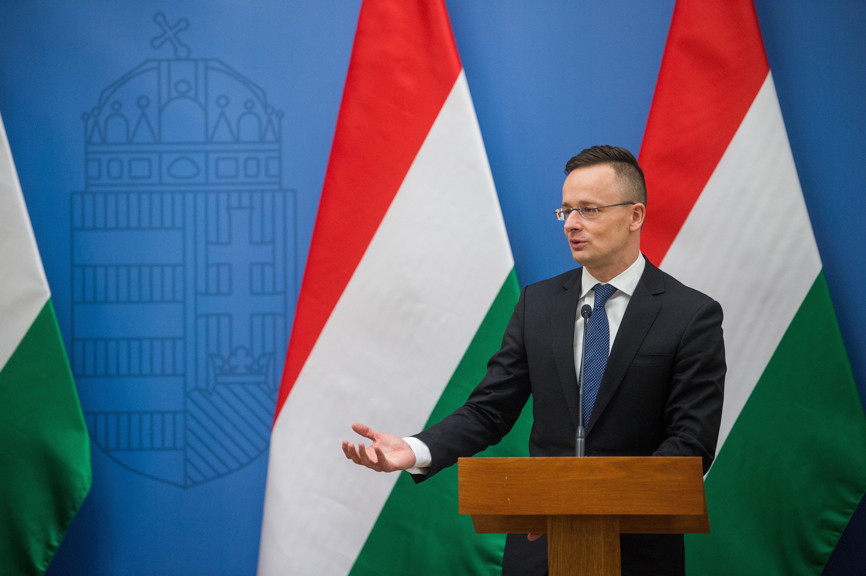 SZIJJÁRTÓ Péter foreign minister
