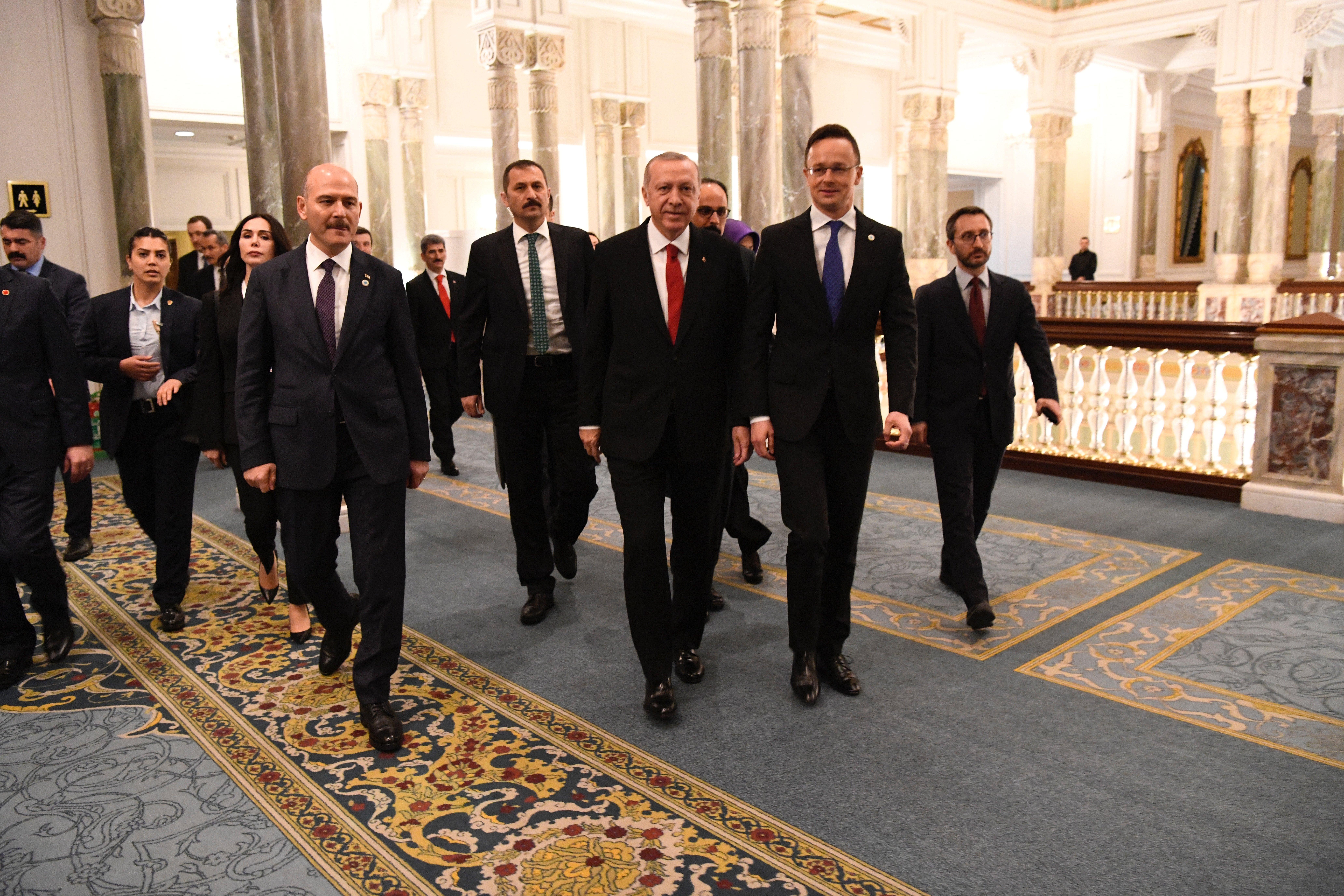 Erdogan Szijjártó Istanbul