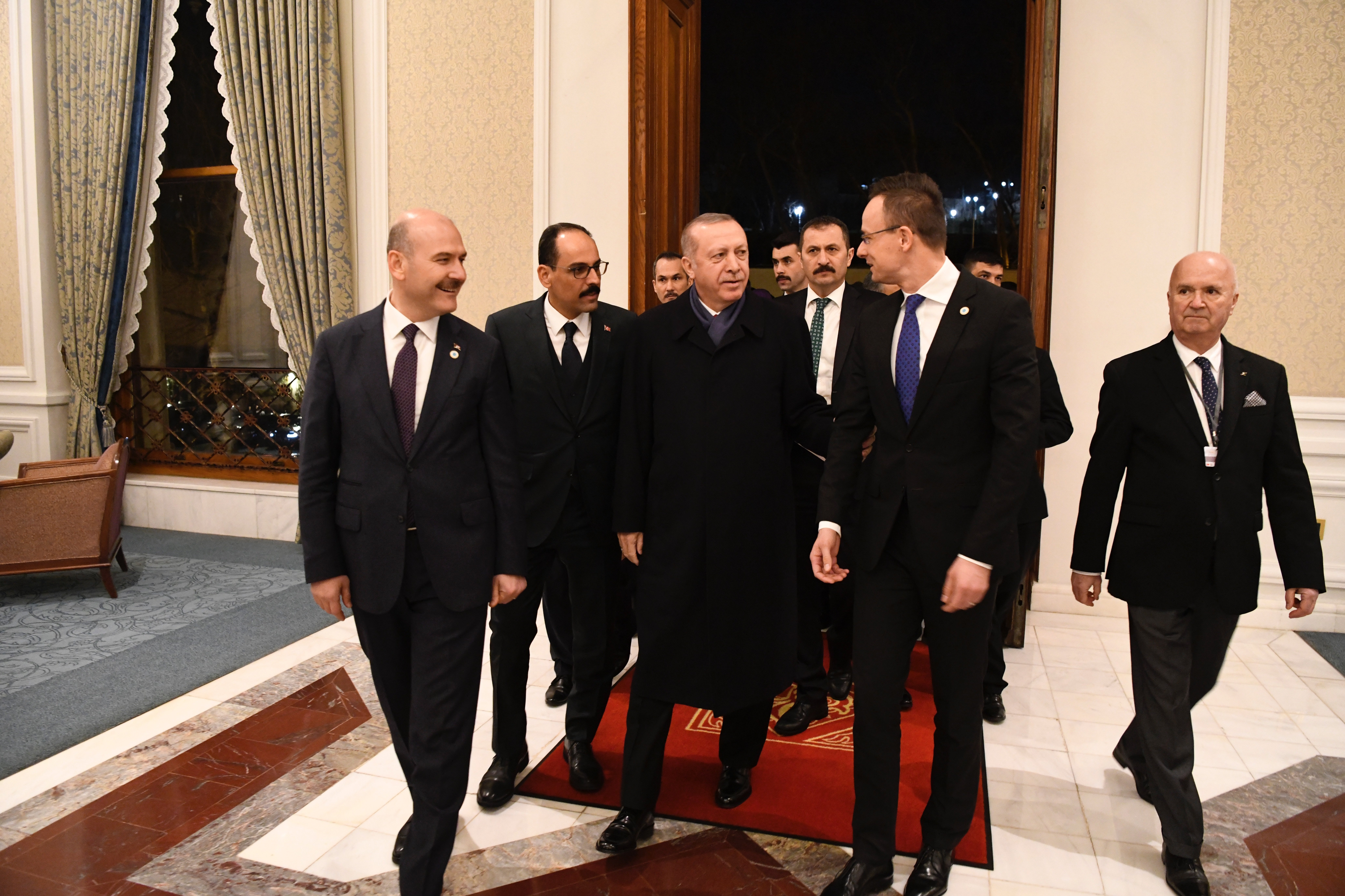 Erdogan Hungary Turkey