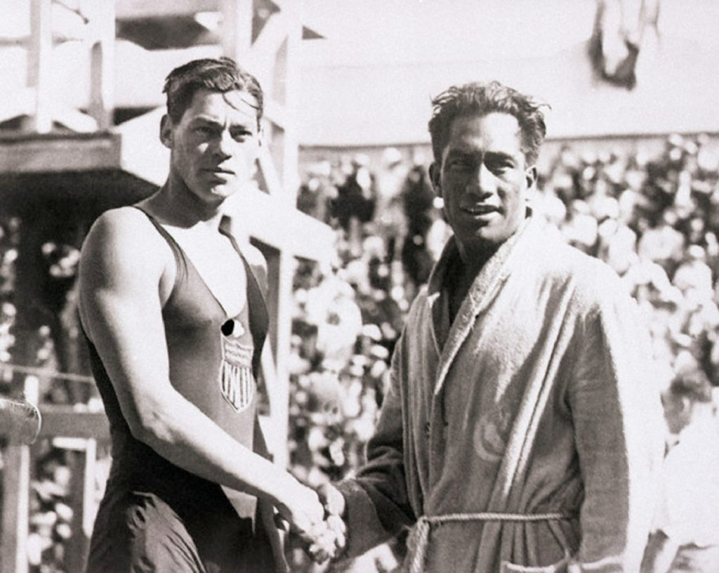 Weissmuller, Olympics, swimming, sport