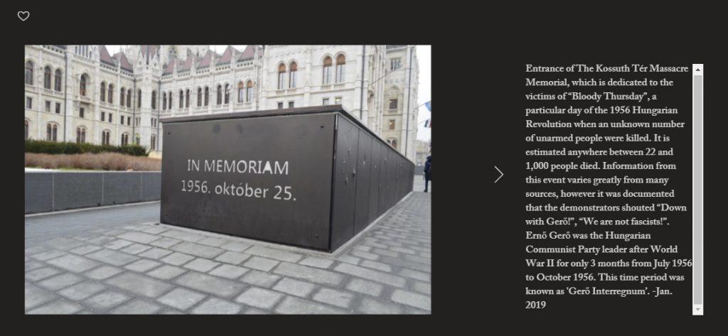 1956 memorial budapest