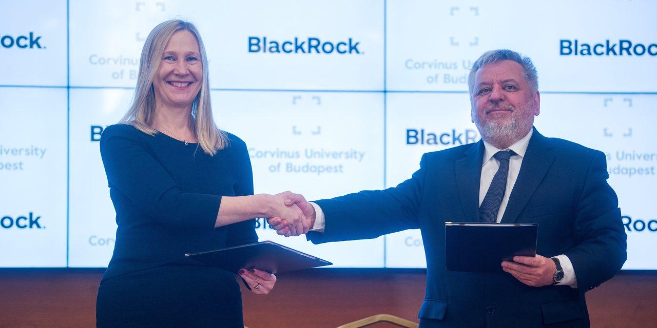 Corvinus University, BlackRock form partnership