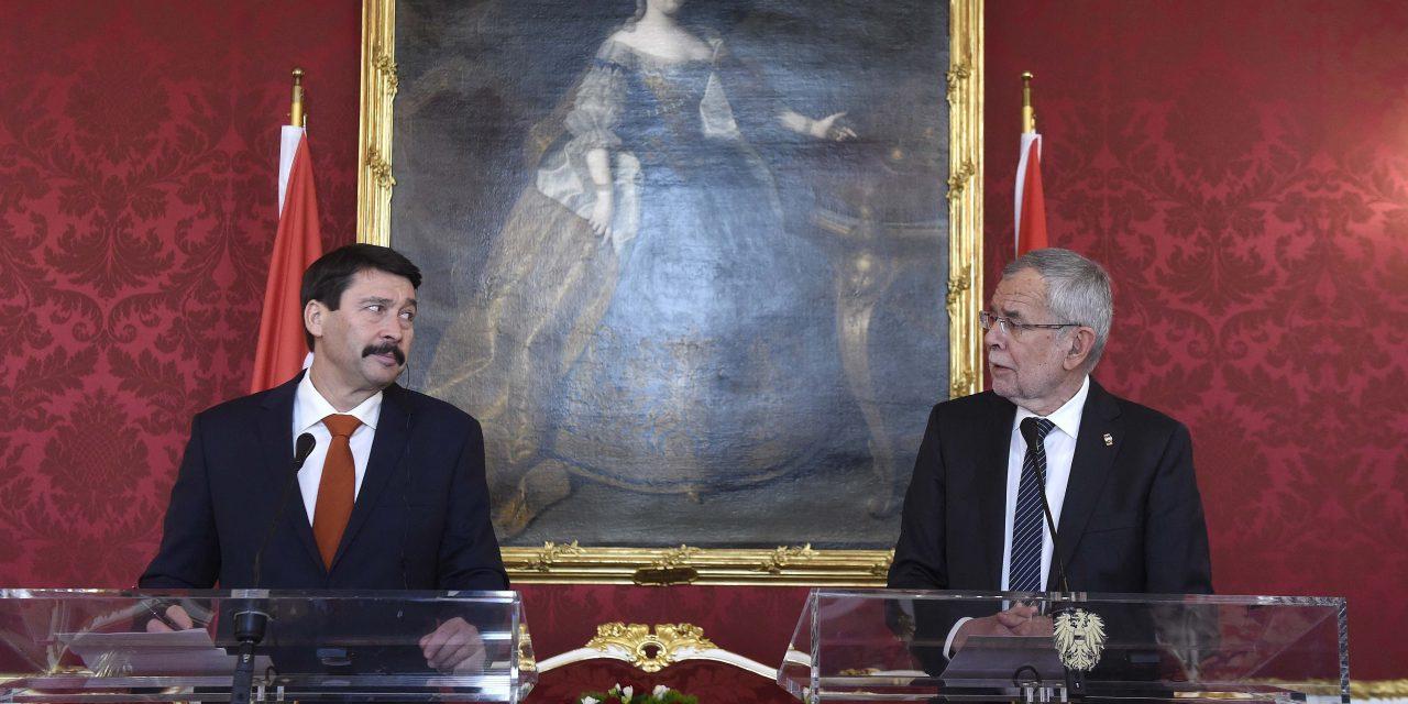 President lauds Hungary-Austria economic ties