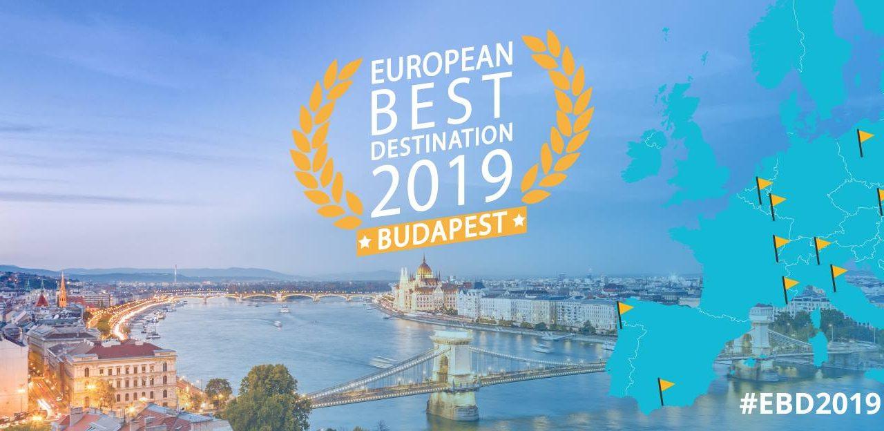 Amazing! Budapest wins best European destination 2019 title