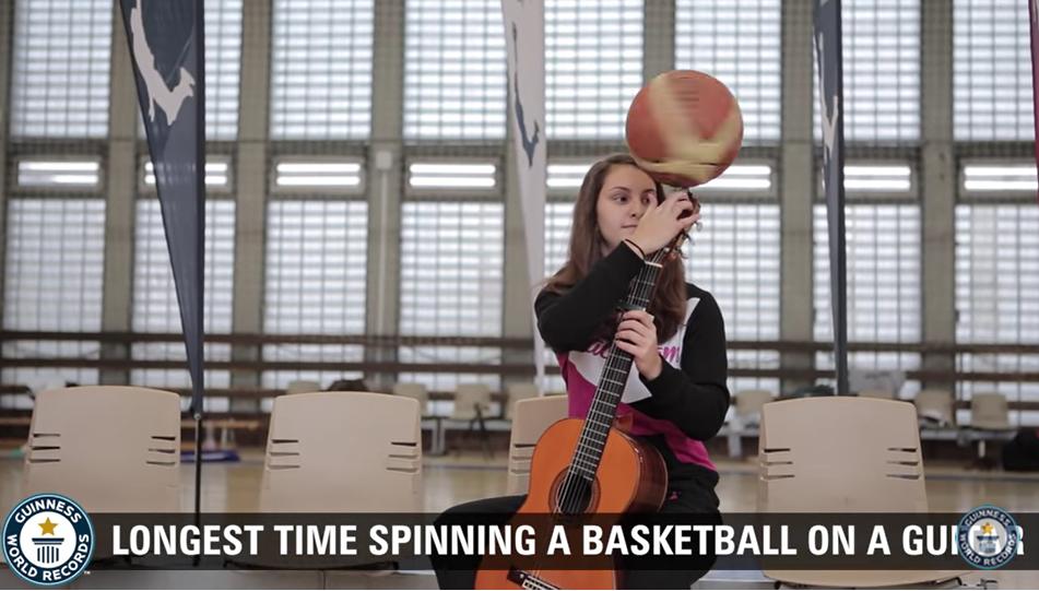 weird, record, guinness, basketball