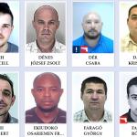 hungary top 50 most wanted Hungarian criminals Screenshot police.hu