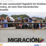 Deputy PM outraged by references to Venezuela Hungarians as 'migrants'
