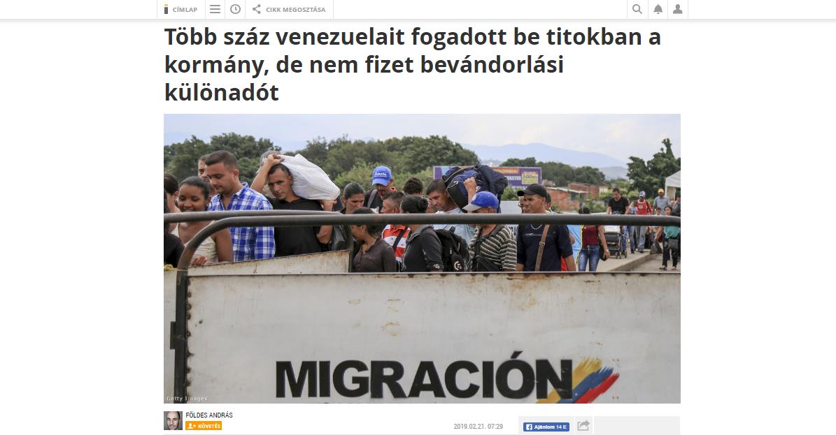 #Venezuela #Hungary #migrants