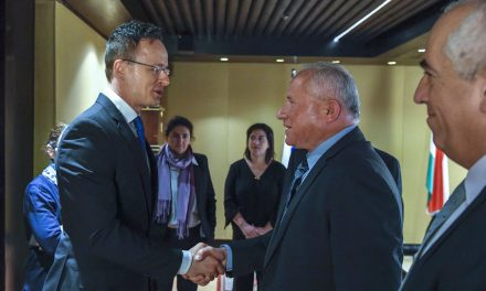 Hungarian foreign miniter meets Israeli officials to discuss security, economic affairs