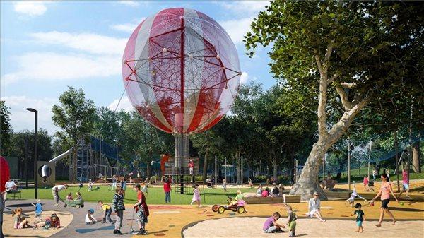 liget, budapest, playground